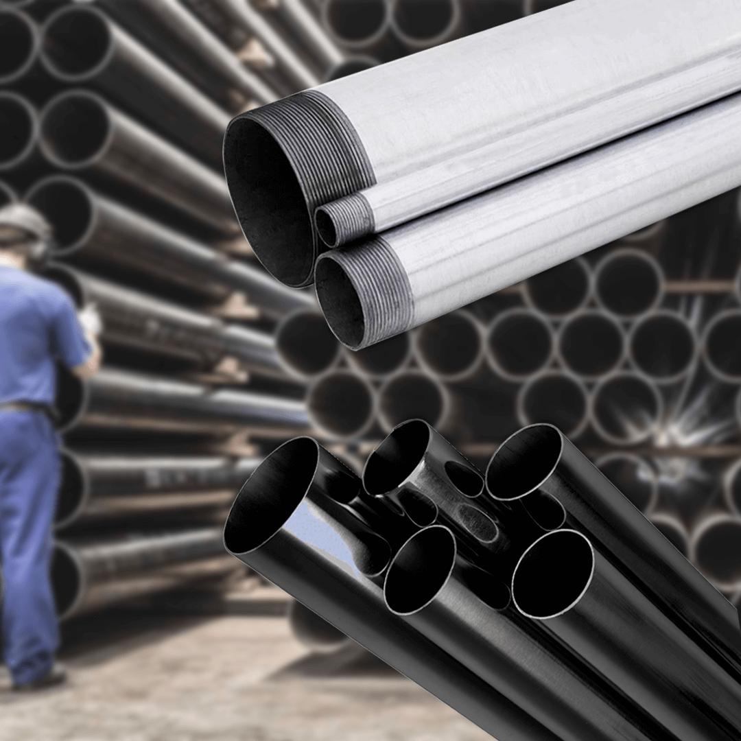 Diferenças entre tubos de aço carbono e tubos galvanizados | Tubos Oliveira