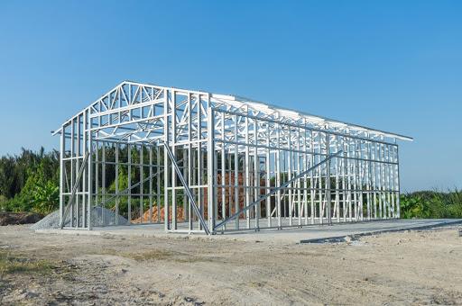 Você sabia que os tubos de aço podem ser usados na construção de casas