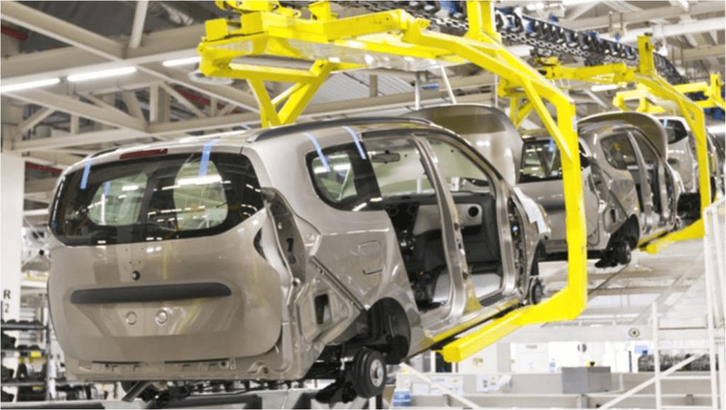 Atividade industrial com crescimento generalizado