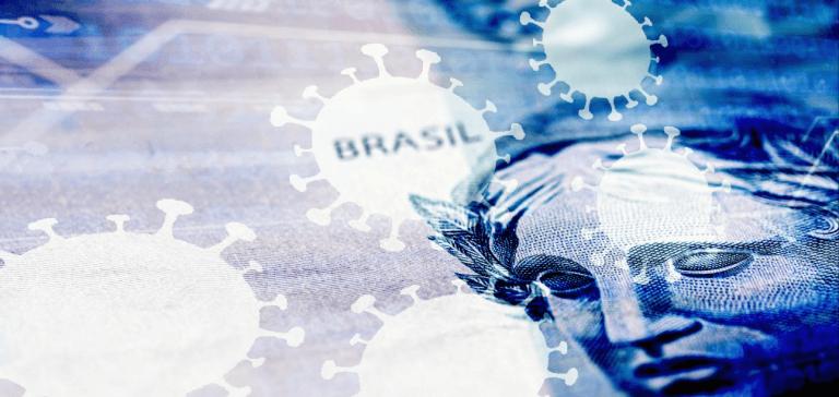 Mercado melhora pela 5ª vez seguida projeção para tombo do PIB do Brasil em 2020